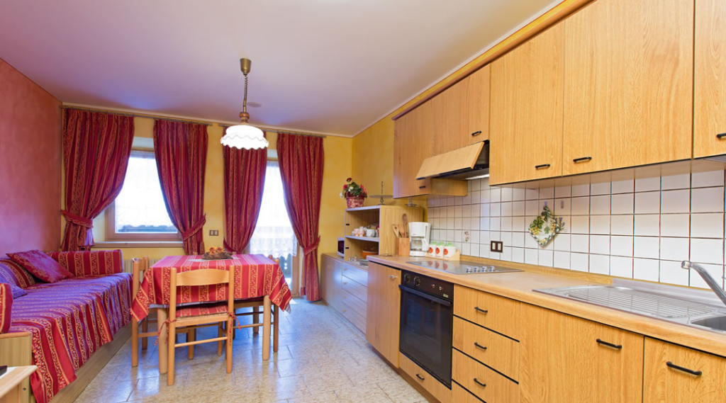 Rote Apartment
